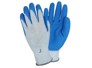 The Safety Zone Mens White String Gloves